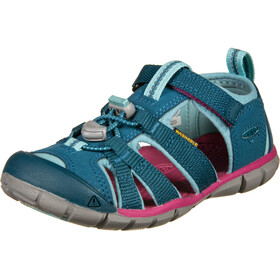 Keen Seacamp II CNX Sandals Youth lagoon/pink